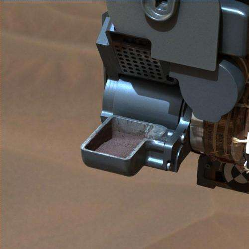 NASA's Curiosity Mars rover finds mineral match