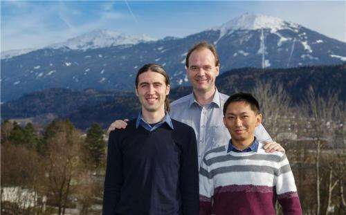 Physicists provide experimental proof of theorized Efimov states