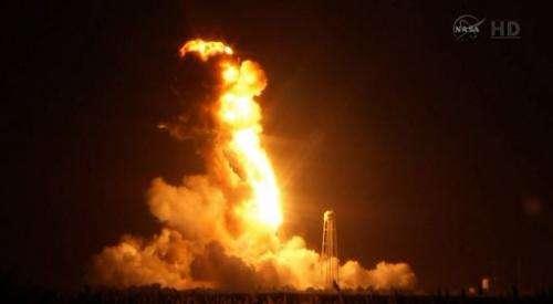 Russian rocket engines suspected in launch blast