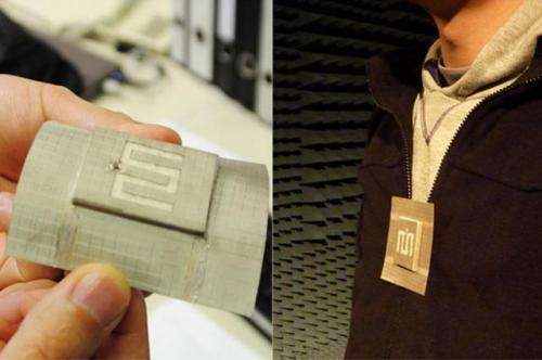 Researchers develop fully textile waveguide antenna using a metamaterial-inspired unit cell