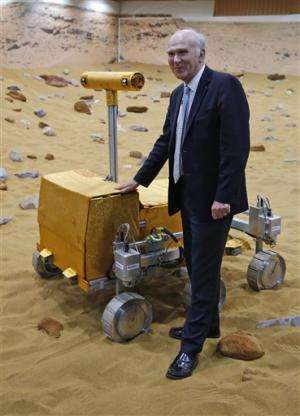 2018 mission: Mars rover prototype unveiled in UK