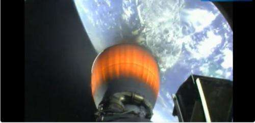 SpaceX launches six commercial satellites on Falcon 9