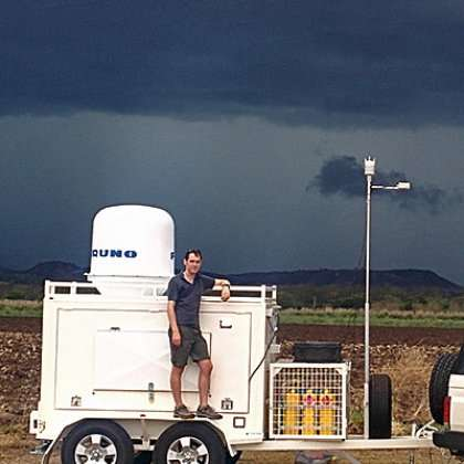 Storm chasers use powerful new radar in bid to understand summer tempests