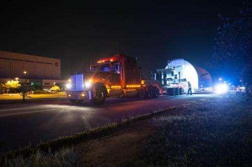 "James Webb Space Telescope ""Pathfinder"" backplane's path to NASA"