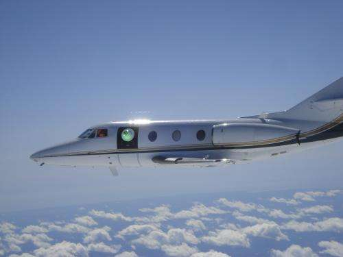 Lockheed Martin conducts flight tests of aircraft laser turret for DARPA
