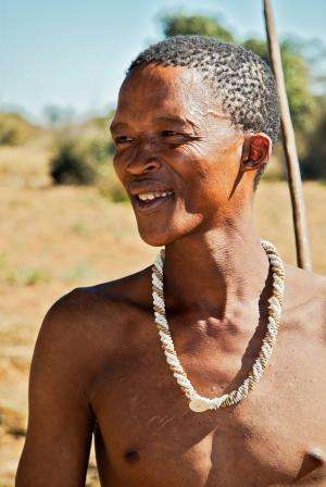 Researchers find signs of western Eurasian genes in southern African Khoisan tribes