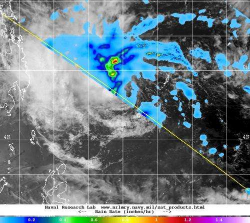 Tropical Cyclone Peipah passes Palau, Philippines prepare