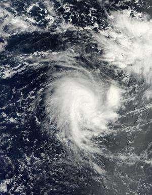 NASA sees Tropical Cyclone Adjali develop a tail