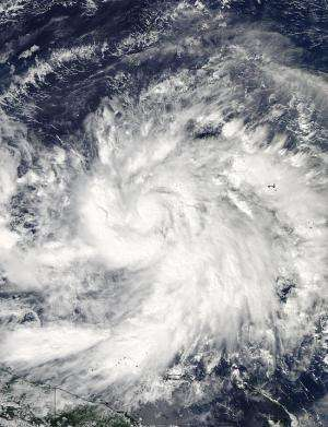 NASA sees Tropical Storm Hagupit as Micronesia posts warnings