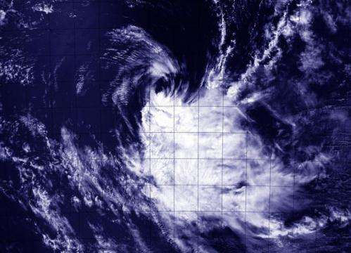 NASA sees Tropical Cyclone Kate meeting its end