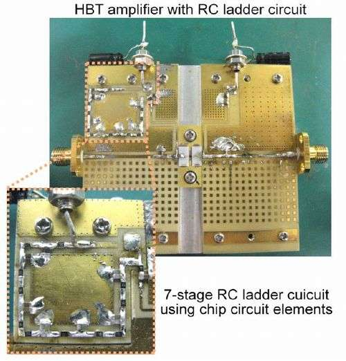 World's first successful use of an electric circuit to compensate for distortions in electric signals due to heat