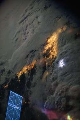 Space Station sensor to capture 'striking' lightning data