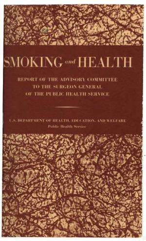 8 million lives saved since surgeon general's tobacco warning 50 years ago