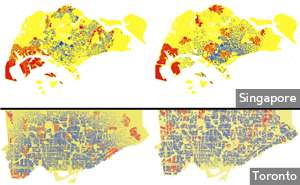 A computer model that can replicate the growth of cities has valuable implications for urban planning and sustainability