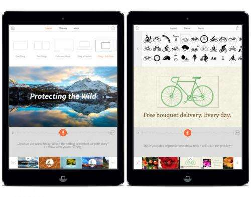 Adobe releases Voice – free app for video storytelling