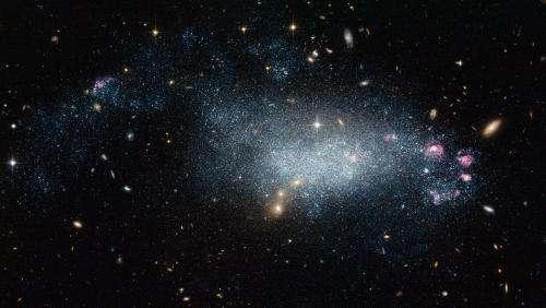 A galaxy of deception