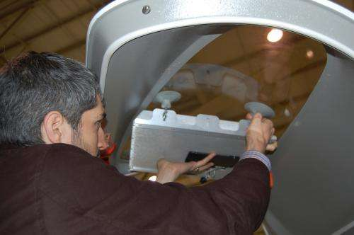 Agile aperture antenna tested on aircraft to survey ground emitters, maintain satellite connection