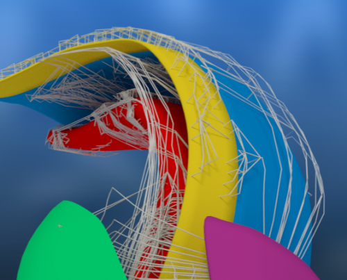 A glimpse into the 3D brain