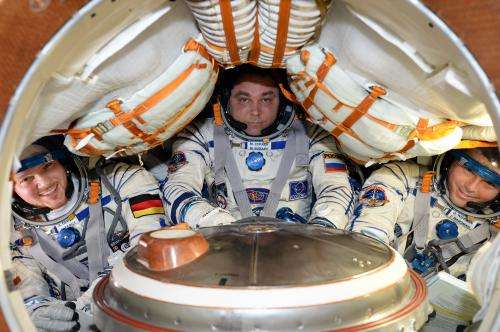 Alexander's rollercoaster ride from space to Germany