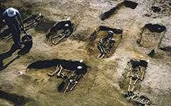Ancient graves hint at cultural shift to Anglo-Saxon Britain