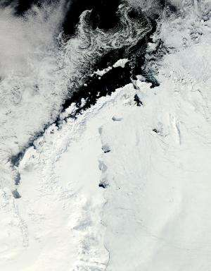 Research trio offer new explanation for breakup of Larsen B Ice Shelf
