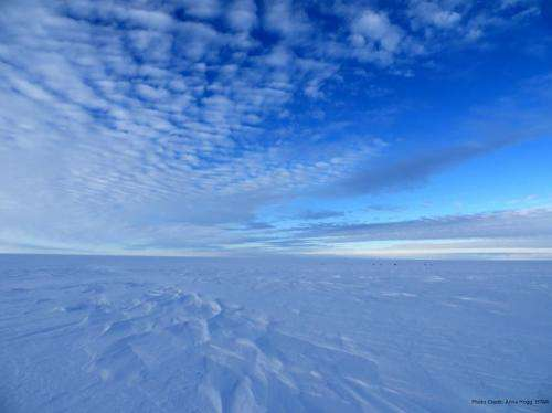 Antarctica's ice losses on the rise