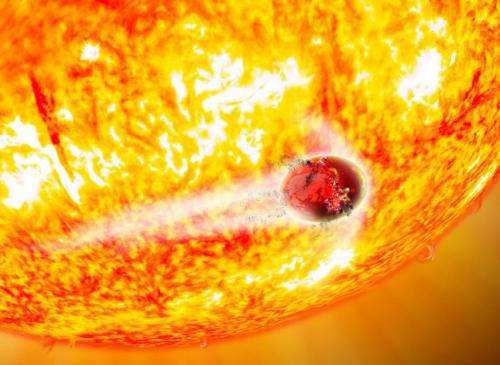 Because you can't eat just one: Star will swallow two planets