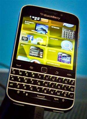 Blackberry posts 3Q adjusted profit,  revenue down