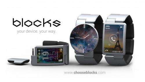 Blocks will go beyond just imagining a snap-together smartwatch