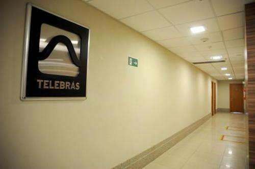 Brazilian Telecommunication Company (TELEBRAS) office in Brasilia, Brazil, on May 30, 2012