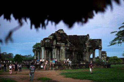 Built by King Suryavarman II in the 12th century, Angkor Wat is considered the largest Khmer temple complex in the world