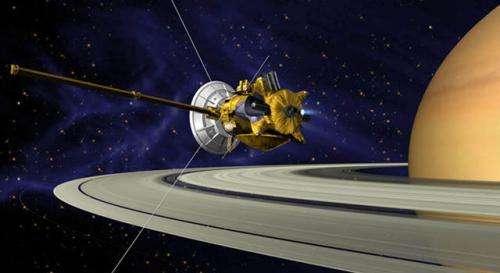 Cassini prepares for its biggest remaining burn