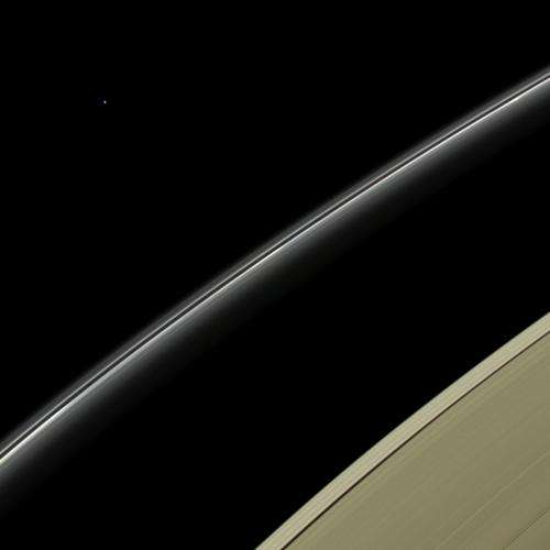 Cassini spies the ice-giant planet Uranus
