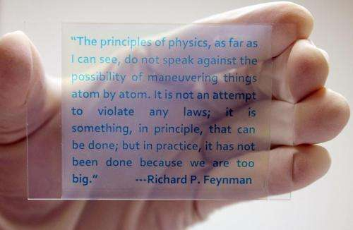 Chemists fabricate novel rewritable paper