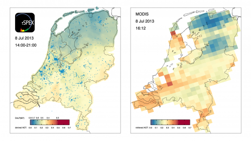 Citizen science network produces accurate maps of atmospheric dust