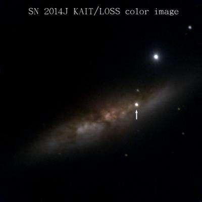 Closest, brightest supernova in decades is also a little weird