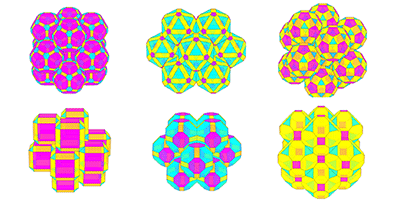 Computational study finds maximum packing density of 55,000 different shapes