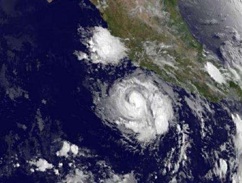 Cristina now a hurricane, NASA's TRMM satellite sees heavy rainfall within