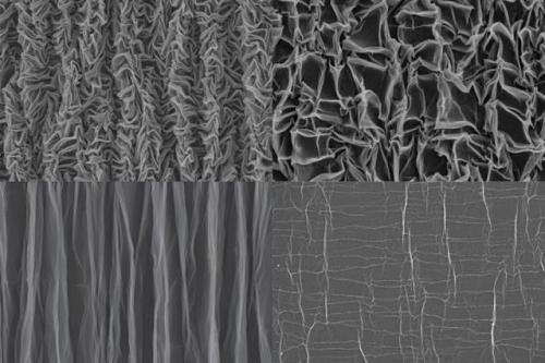 Crumpled graphene could provide an unconventional energy storage