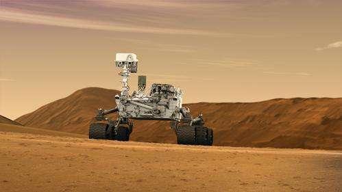 Curiosity peaked on Mars mission