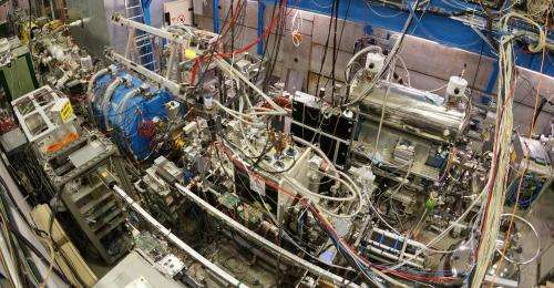 CERN experiment produces first beam of antihydrogen atoms for hyperfine study