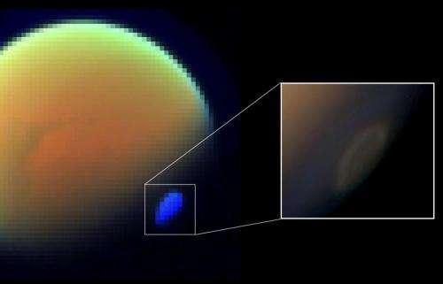 Cyanide ice in Titan's atmosphere