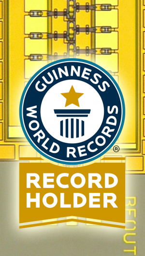 DARPA circuit achieves speeds of 1 trillion cycles per second, earns Guinness world record