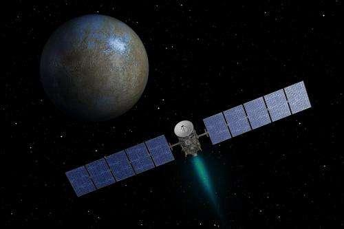 Dawn spacecraft begins approach to dwarf planet Ceres