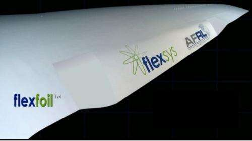 Flight research center to test shape-changing wing idea