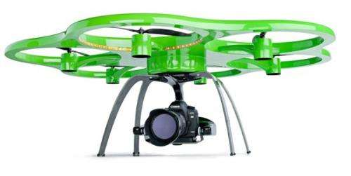 Drones used to assess damage after disasters