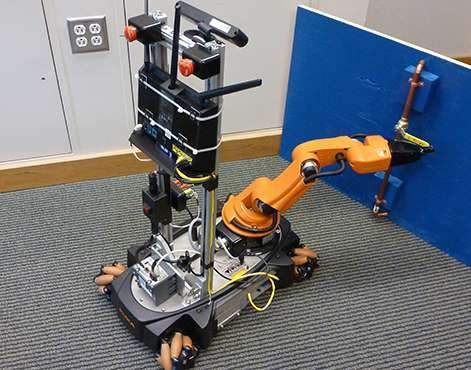 Engineers building teleoperated robots for disaster response in national challenge