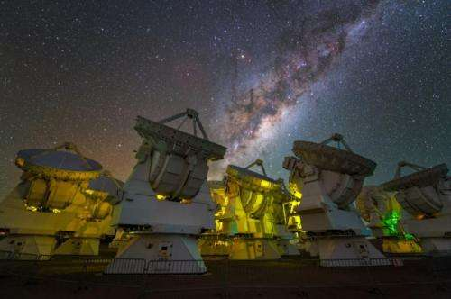 Interstellar molecules are branching out: Detection of iso-propyl cyanide with ALMA