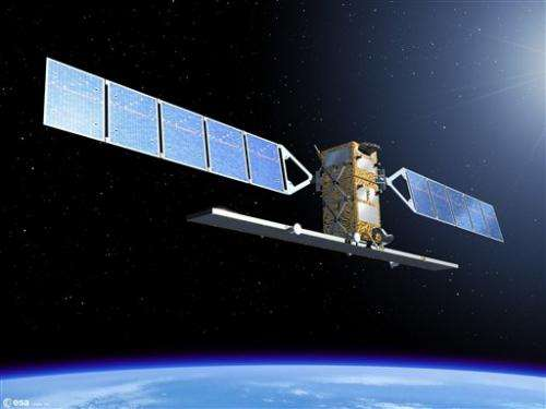 ESA launching satellite for new monitoring system