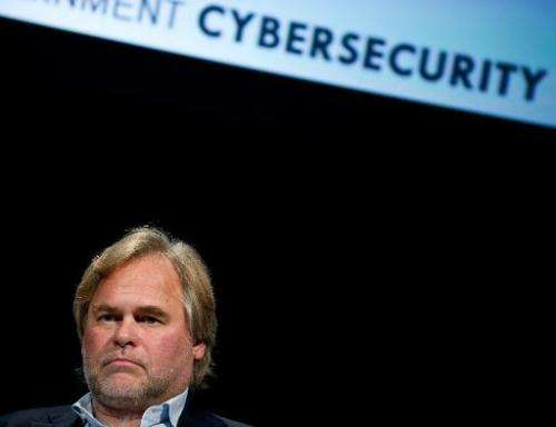 """Eugene Kaspersky, CEO of Kaspersky Lab, takes part in a conversation entitled """"How Cyber-Weapons Impact Global IT Security&"""